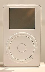 A first generation iPod (2001)