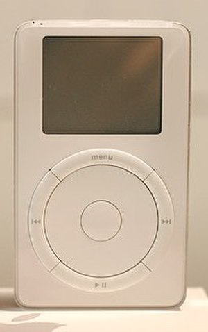 IPod Classic - iPod (1st gen), 2001.