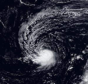 Hurricane Lili (1990) - Image: Lili 11 October 1990