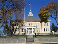 Lincoln County Courthouse Davenport, Washington.JPG
