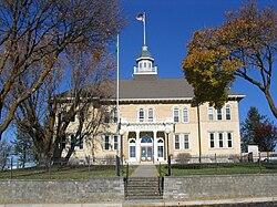 Lincoln County Courthouse Davenport, Washington