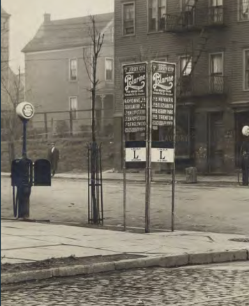 File:Lincoln Highway sign Jersey City 1918.tiff
