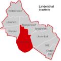 Lindenthal Stadtteil Junkersdorf.PNG