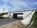 Linia kolejowa nr 95 - wiadukt w Niepołomicach.jpg