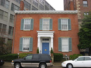 Lytle Park Historic District - Literary Club building
