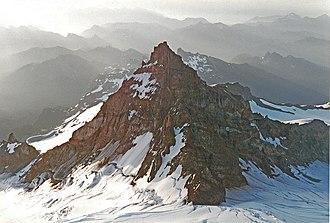 Little Tahoma Peak - Image: Little Tahoma sunrise