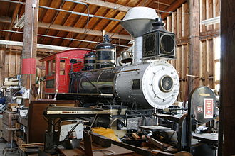 California Trolley and Railroad Corporation - AT&SF locomotive #5, 16 August 2008