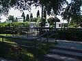 Lloyd Park tramstop southern entrance.JPG