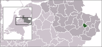 Hertme - Image: Locatie Borne