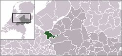 Location of Nijkerk