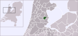 Location of Purmerend