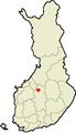 Location of Kivijärvi in Finland.png