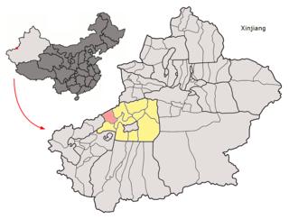 Uqturpan County County in Xinjiang, Peoples Republic of China