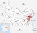 Locator map of Arrondissement Pontarlier 2018.png