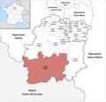 Locator map of Kanton Étampes 2019.png