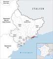 Locator map of Kanton Beausoleil.png