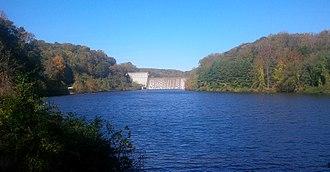 Loch Raven Reservoir - Loch Raven dam