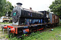 Locomotive awaiting restoration East Kent Railway Shepherdswell Kent England.jpg