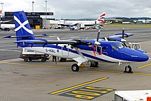 Image result for loganair twin otter