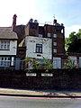 London-Woolwich, Woolwich High & Church St, church hill.jpg