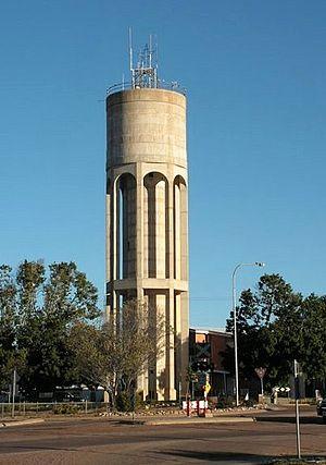 Longreach, Queensland - Longreach: the river water tower