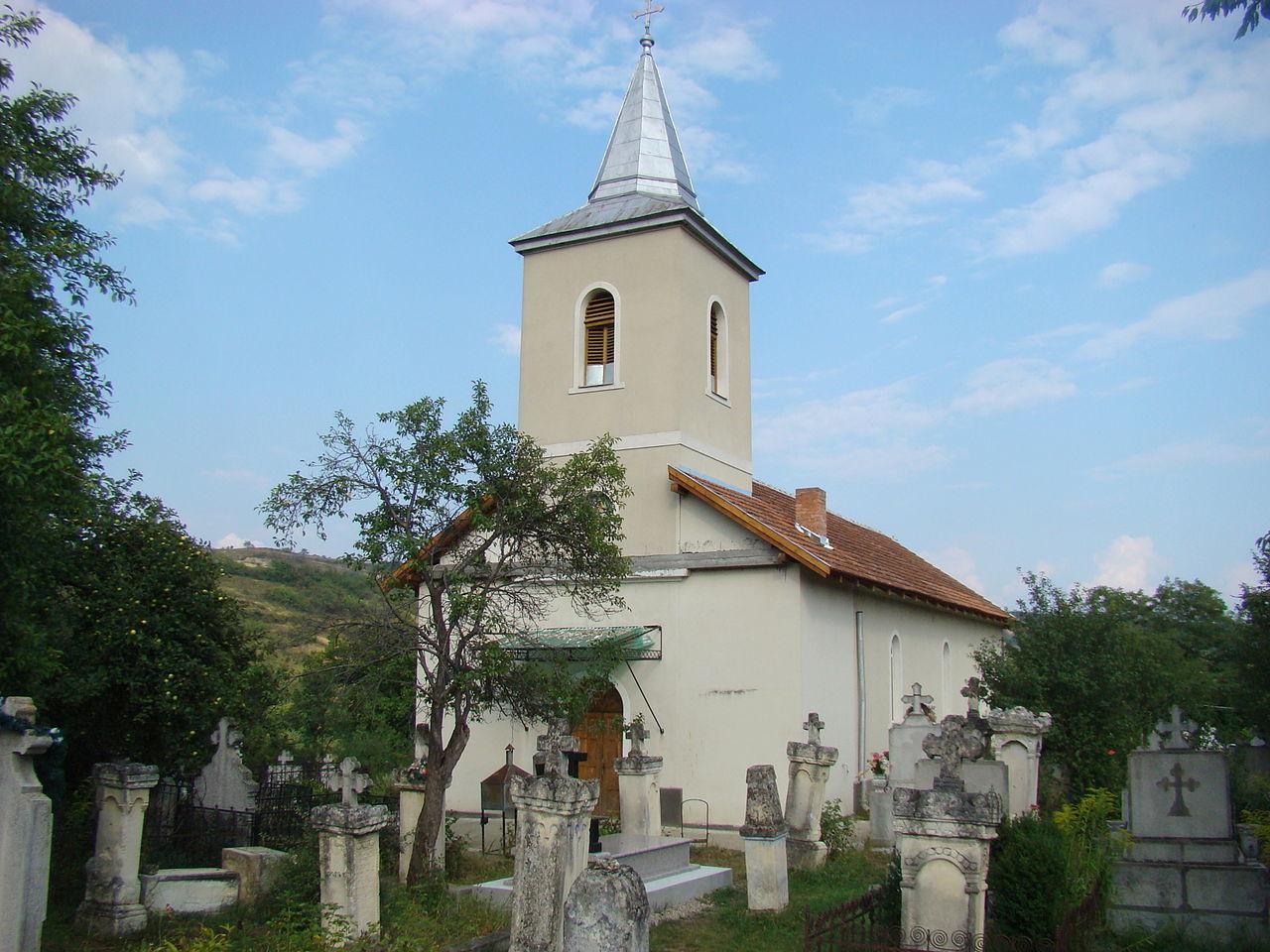 """Biserica ortodoxă cu hramul """"Adormirea Maicii Domnului"""""""