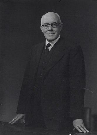 Auckland Geddes, 1st Baron Geddes - Image: Lord Geddes