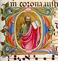 Lorenzo Monaco, Saint Paul, fol.163r, 1397-1404, Florence, Biblioteca Medicea Laurenziana, Choir book 8.jpg
