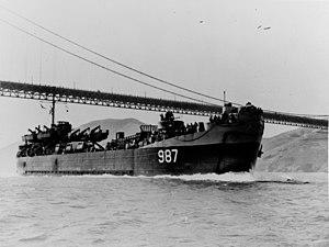 USS LST-987 - USS Millard County (LST-987)