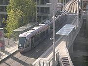 Luas light rail