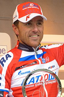 Luca Paolini Road racing cyclist