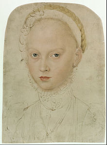 Lucas Cranach the Younger - Portrait of Princess Elisabeth of Saxony - Google Art Project.jpg