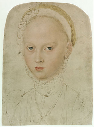 Elisabeth of Saxony - Image: Lucas Cranach the Younger Portrait of Princess Elisabeth of Saxony Google Art Project