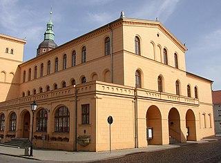 Luckau Place in Brandenburg, Germany