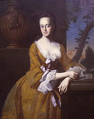 Portrait of Lucretia Chandler, Mrs. John Murray