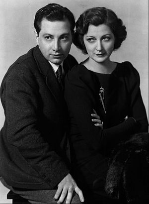 Luther Adler - Luther Adler and his sister Stella in a 1936 publicity photo for their appearance in the Group Theater production of Awake and Sing!