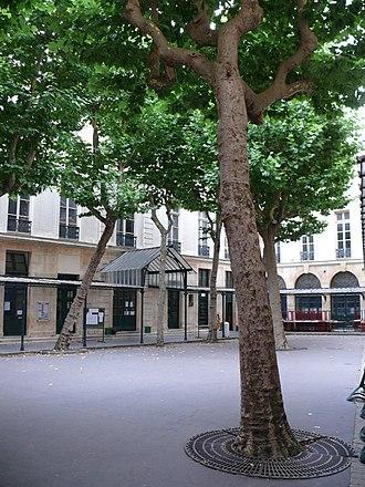 Lycée Fénelon, Paris - Image: Lycée Fénelon (Paris) cour