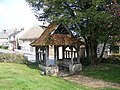 Lych Gate, All Saints Church, Middle Woodford - geograph.org.uk - 773681.jpg