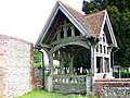Lych gate, St Peter's on the Green - geograph.org.uk - 1332201.jpg