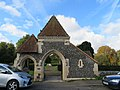 Lychgate at entrance to west churchyard extension.jpg