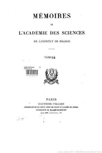 File:Mémoires de l'Académie des sciences, Tome 10.djvu