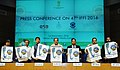 M. Venkaiah Naidu releasing the Poster for the IFFI - 2016, at the press conference on 47th International Film Festival of India (IFFI), in New Delhi.jpg