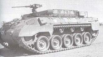 M39 Armored Utility Vehicle - Image: M39 Armored Utility Vehicle 1