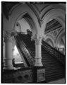 MAIN STAIRWAY - Richmond City Hall, 1001 East Broad Street, Richmond, Independent City, VA HABS VA,44-RICH,99-7.tif