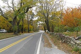 West Barnstable, Massachusetts - Massachusetts Route 6A in West Barnstable