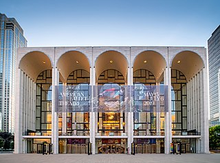 Metropolitan Opera House (Lincoln Center) opera house in Manhattan