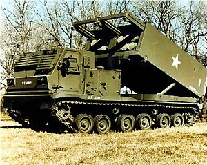 Rocket (weapon) - M270 MLRS