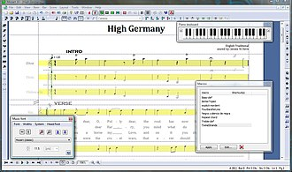 Mozart the music processor - Image: MOZART10