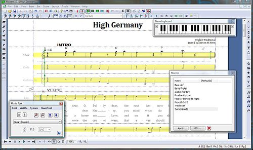 Mozart screenshot