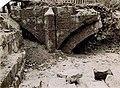 Maastricht-Wyck, opgraving brug bij St-Maartenspoort, 1925.jpg